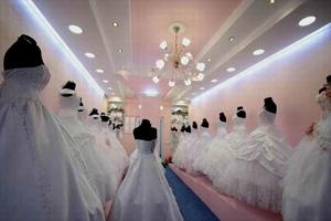 Освещение свадебного салона